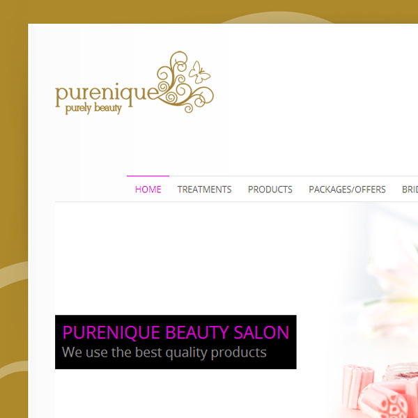 Web design for Purenique